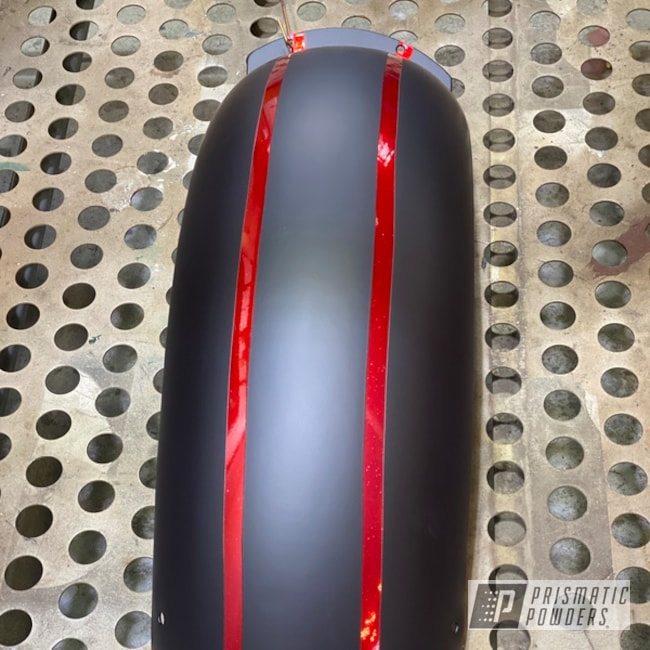 Powder Coated Honda Shadow Fuel Tank