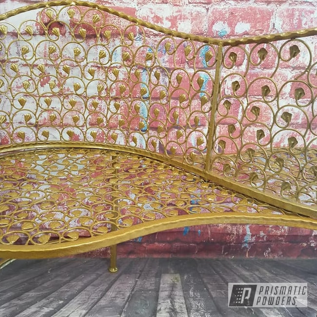Powder Coating: Coppersun River PRB-2826,Vintage,Custom Bench,Patio Funiture,Love Seat,Vintage Furniture