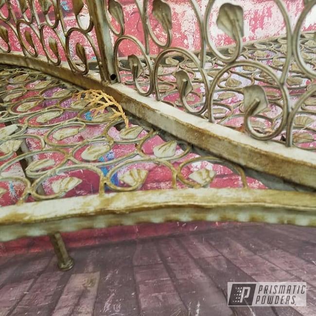 Powder Coating: Coppersun River PRB-2826,Vintage,Custom Bench,Patio Funiture,Love Seat,Vintage Furniture