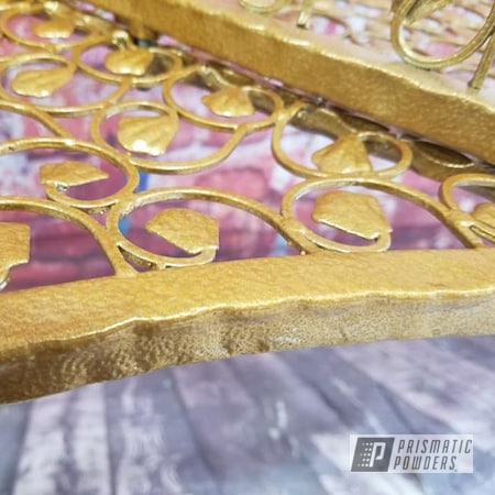 Powder Coating: Coppersun River PRB-2826,Patio Furniture,Vintage,Custom Bench,Love Seat,Vintage Furniture