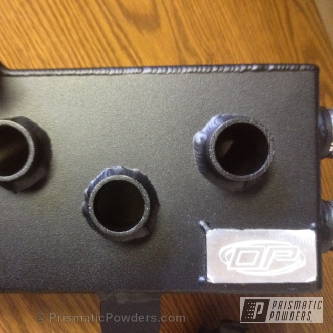 Powder Coating: Custom,Automotive,powder coating,powder coated,Prismatic Powders,Black Cast PCS-4721,dynamic