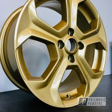 Powder Coated 18 Inch Ford Wheels In Pmb-4053