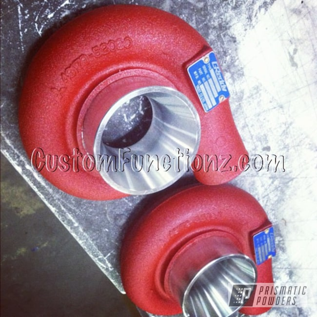 Powder Coating: Automotive,Hacienda Red Wrinkle PWB-6450