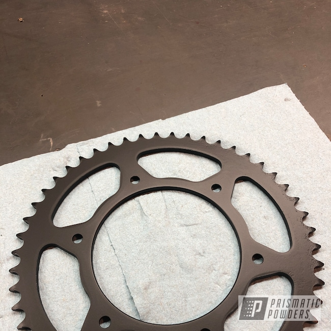 Powder Coating: Automotive,BLACK JACK USS-1522,Honda,Motorcycles,sprocket,Dirt Bike,Primary Drive