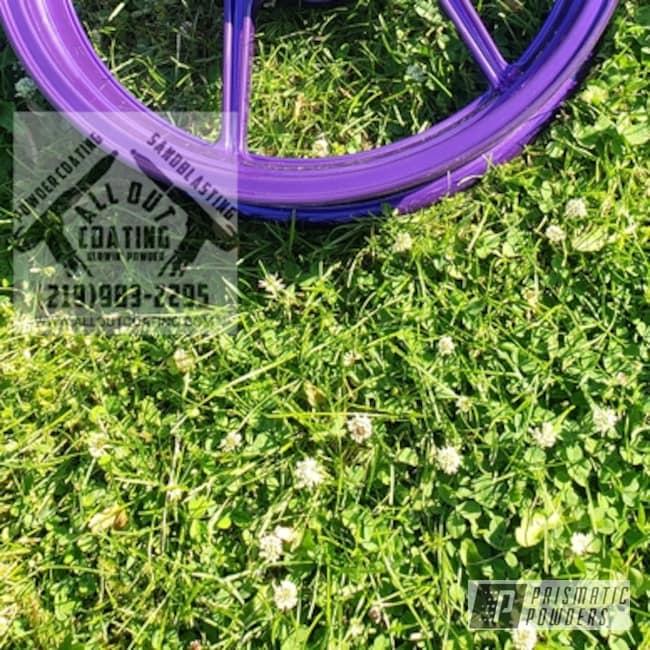 Powder Coated Kawasaki Ninja 1000 Wheels In Ppb-4446