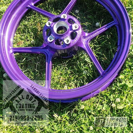 Powder Coating: Automotive,Kawasaki,17,Custom Motorcycle,Motorcycles,HAWAIIAN BLUE PPB-4446,Ninja 1000