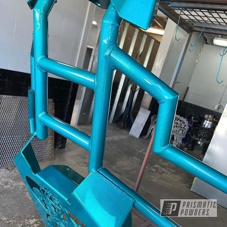Powder Coating: Automotive,Custom ATV Frame,Clear Vision PPS-2974,ATV,Illusion Tropical Fusion PMB-6919,Bumpers,Quad Parts