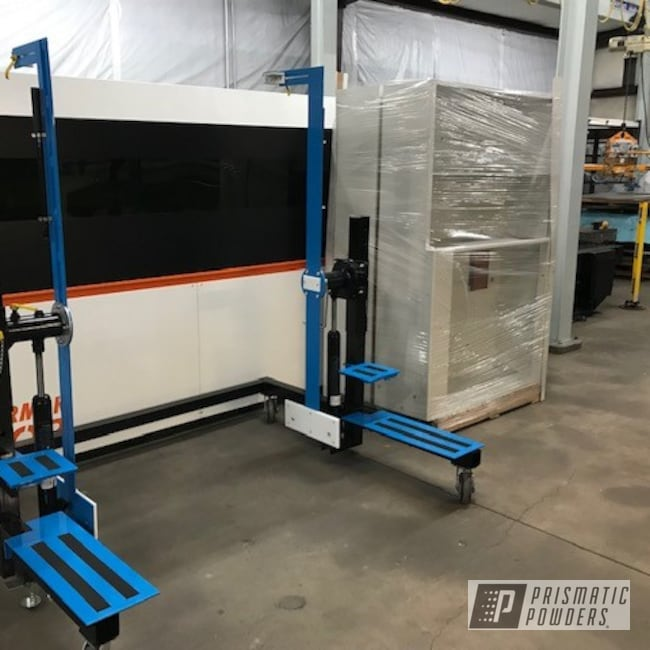 Powder Coating: RAL 5017 Traffic Blue,Industrial,Lift Station