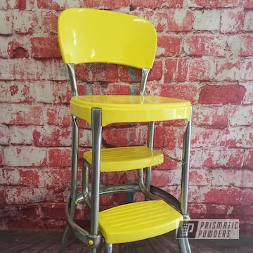 Powder Coated Cosco Retro Stool