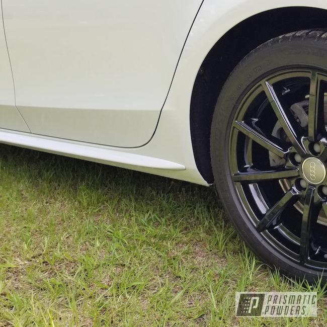 "Powder Coating: Wheels,19"" Wheels,19"",Automotive,Clear Vision PPS-2974,Ink Black PSS-0106,Audi,19"" Aluminum Rims,Audi A4,Audi S Line,19's"
