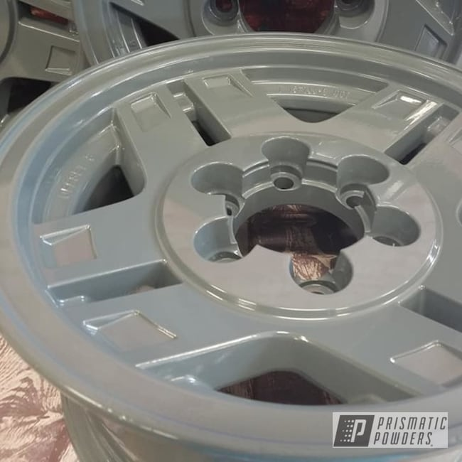 "Powder Coating: Wheels,Automotive,Aluminium Rims,Automotive Rims,RAL 7011 Iron Grey,15"" Wheel,Aluminum Wheels"
