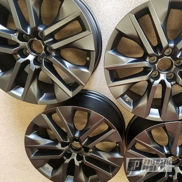Powder Coated Set Of 19 Inch Aluminum Toyota Rims In Uss-1522
