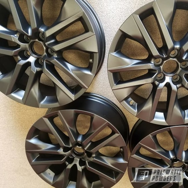 "Powder Coating: Wheels,Automotive,BLACK JACK USS-1522,Aluminium Rims,19"" Aluminum Rims,Automotive Rims,Toyota Rims"