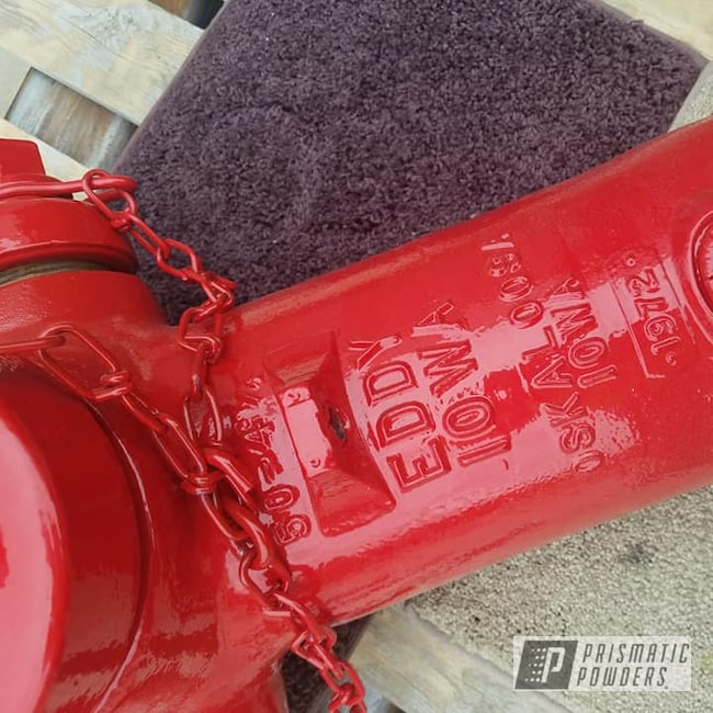 Powder Coating: Fire Hydrant,Vintage,RAL 3002 Carmine Red,Miscellaneous