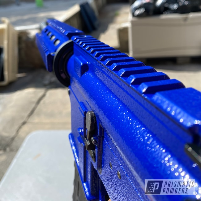Powder Coating: Magfed Paintball Marker,First Strike,Paintball Marker,First Strike T15,Paintball,Cobalt River PRB-1862,2020