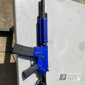 Powder Coated Refinished Paintball Marker In Prb-1862