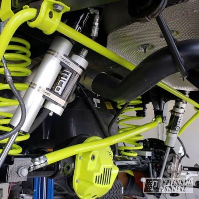 Powder Coating: Automotive,Chartreuse Sherbert PSS-7068,Suspension