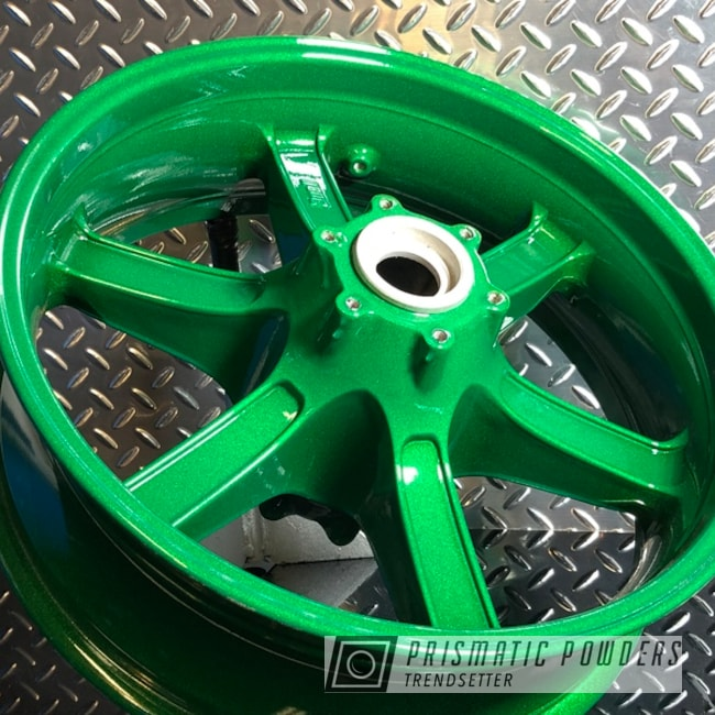 Powder Coating: Wheels,Automotive,Illusion Money PMB-6917,Clear Vision PPS-2974,17s,Motorcycle Wheels,Custom Motorcycle,Motorcycles,mac powder coating
