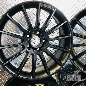 Powder Coated Custom 18 Inch Amg Wheels In Uss-1522