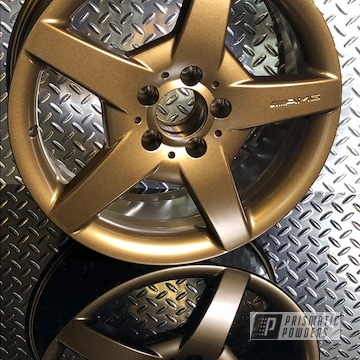 Powder Coated Mercedes Amg Wheels In Pmb-4124