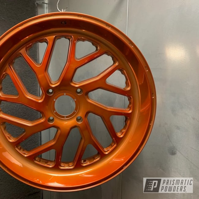 Powder Coating: Wheels,Automotive,Transparent Copper PPS-5162