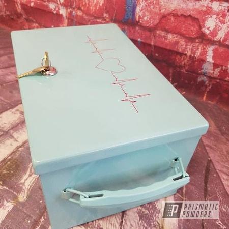 Powder Coating: Custom,2 Color Application,Heartbeat,Sea Foam Pearl PMB-6797,RAL 3002 Carmine Red,Miscellaneous