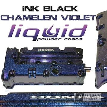Ink Black With Chameleon Violet Top Coat