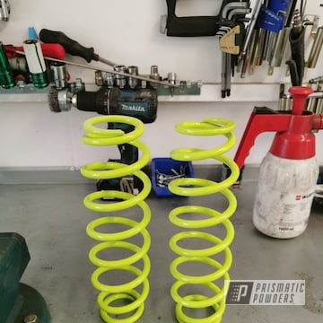 Powder Coated Refinished Ski-doo Shocks In Pss-7068