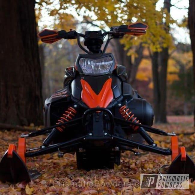 Powder Coating: Custom,Hot Orange PSS-1627,Black,Phazer Fast,Off-Road,powder coating,powder coated,Prismatic Powders,Orange