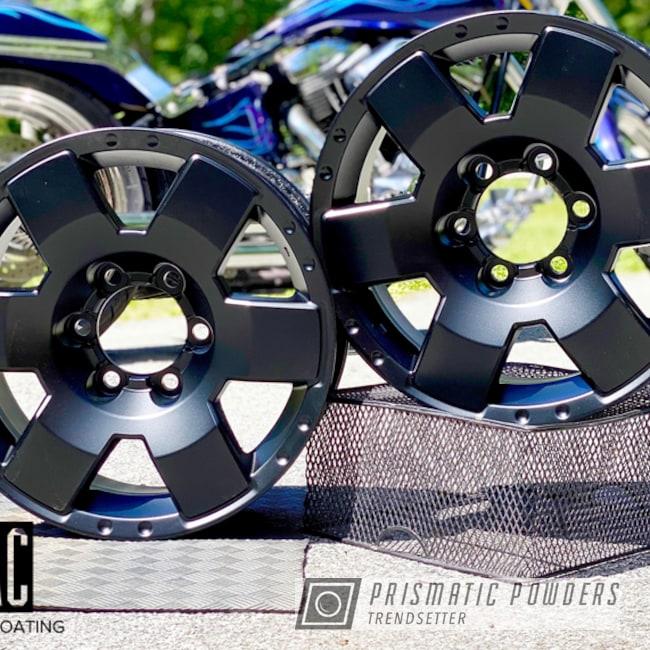 "Powder Coating: Wheels,Automotive,FJ Cruiser,18"",BLACK JACK USS-1522,18"" Wheel,MacPowderCoating,mac powder coating"