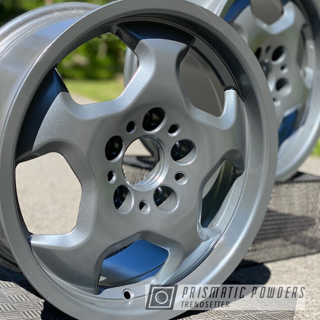 Powder Coating: Wheels,Automotive,BMW Wheels,Spectacular Grey PMB-5624,BMW,mac powder coating