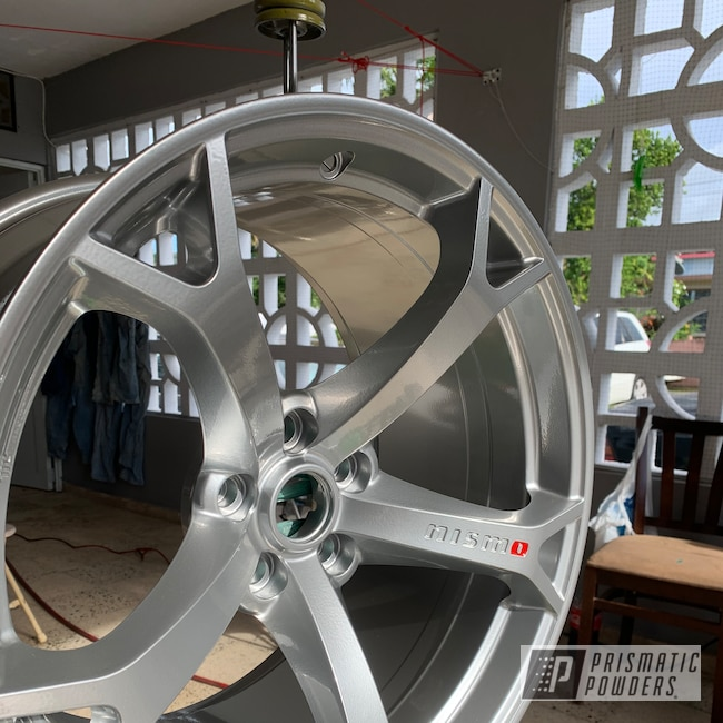 "Powder Coating: Wheels,19"" Wheels,Automotive,Clear Vision PPS-2974,POLISHED ALUMINUM HSS-2345,Really Red PSS-4416,19"" Aluminum Rims,Nismo Wheels,Nismo"