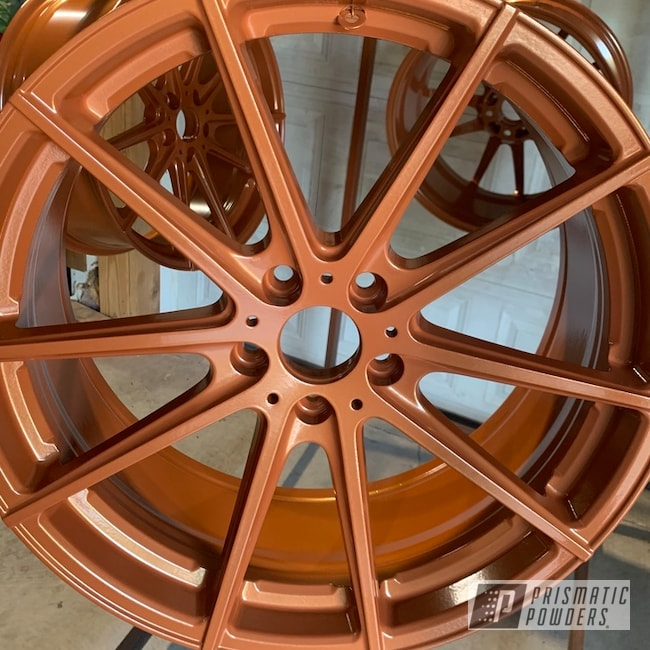 Powder Coated Custom 19 Inch Ford Focus Wheels In Pmb-2264