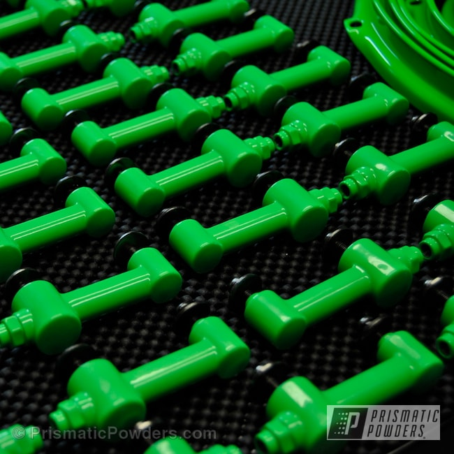 Powder Coating: Clear Vision PPS-2974,Neon Green PSS-1221,Miscellaneous,Drum Parts