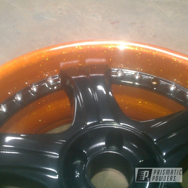 Powder Coating: Flaming Gold PPB-4698,Wheels,wheel,Prismatic Powder Coated,gold