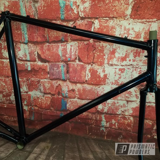 Powder Coating: Bicycles,Bike Frame,Bicycle Parts,Fork,Misty Midnight PMB-4239,Bicycle Frame