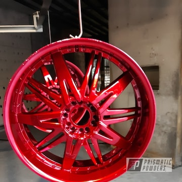 Powder Coated 22 Inch Rims In Ups-1506