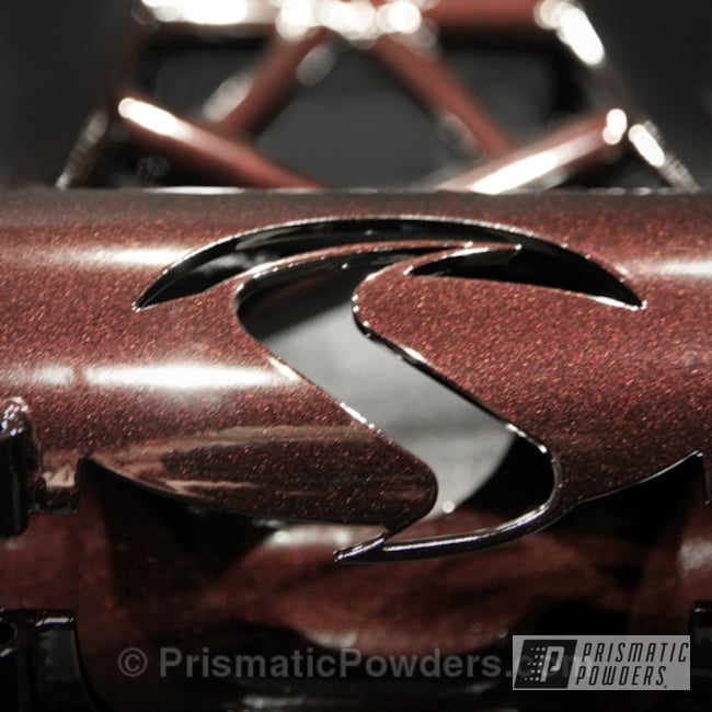 Powder Coated Frame In Black Cherry
