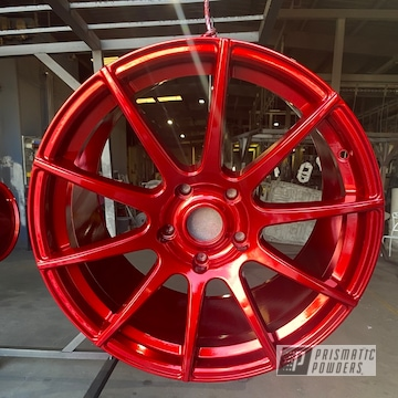 Powder Coated 20 Inch Aluminum Wheels In Uss-4482 And Ups-1506