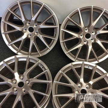 Powder Coated 19 Inch Wheels In Pmb-6648