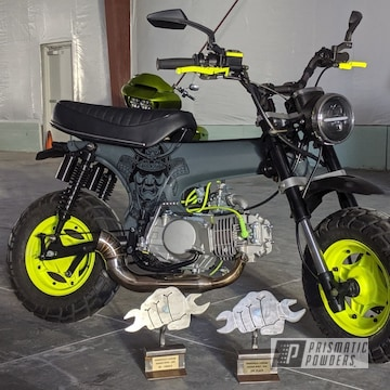 Powder Coated Rebuilt And Refinished Honda Ct70