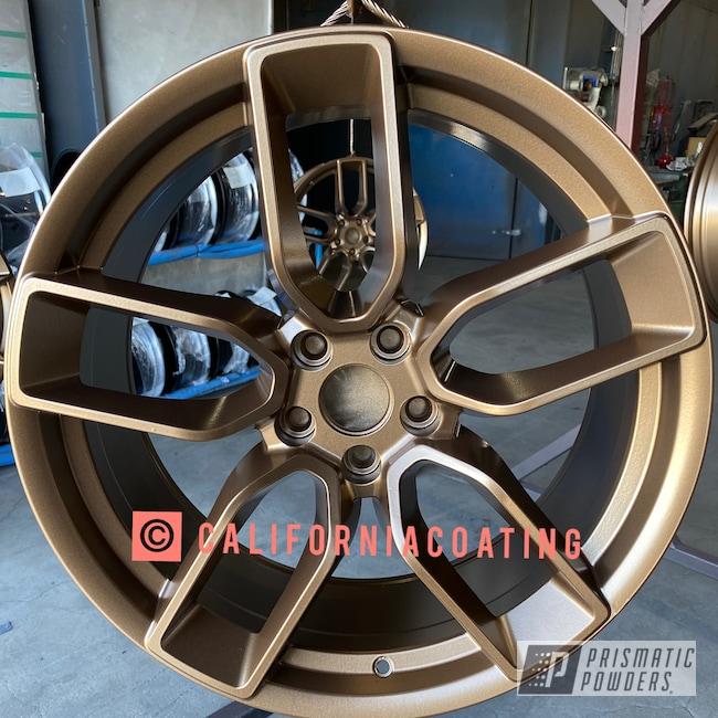 Powder Coating: Wheels,Automotive,Soft Clear PPS-1334,Highland Bronze PMB-5860