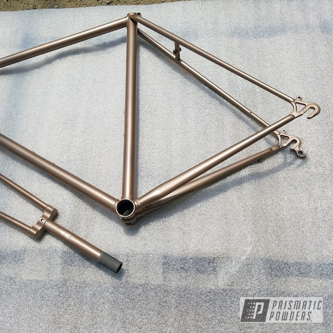 Powder Coating: Bicycles,Copper Jacket PMB-2562,Bicycle Fork,Bicycle Frame,applied plastic coatings inc