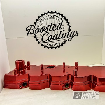 Powder Coated Dodge Valve Cover In Ups-1506