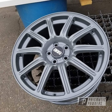 Powder Coated Bbs Wheels In Pmb-5208 And Ppb-5918