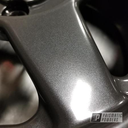Powder Coating: Wheels,Automotive,Heavy Steel PMS-1366,Automotive Rims