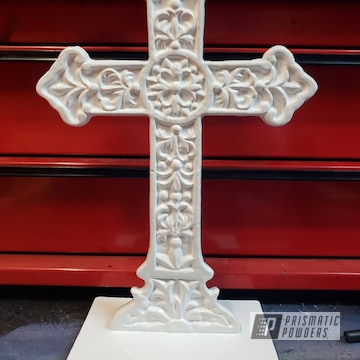 Powder Coated Powder Coated Refinished Antique Cross In Pss-5053 And Pss-5690