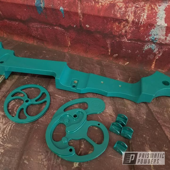 Powder Coating: Outdoor Sports,Archery,Bow,Indian Turquoise PSS-2791,Miscellaneous