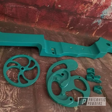 Powder Coated Archery Bow Parts In Pss-2791
