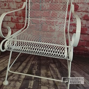 Powder Coated Metal Patio Chair In Pss-5690
